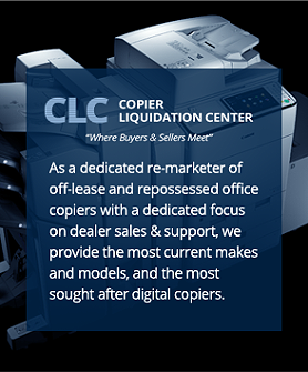 repossessed office copiers wholesale
